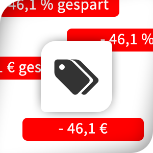Textvarianten für die Shopware Discount-Badge